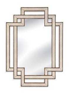 Percy Wall Mirror, Bronze - One Kings Lane