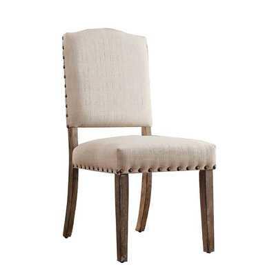 Satine Nailhead Side Chair - set of 2 - Wayfair