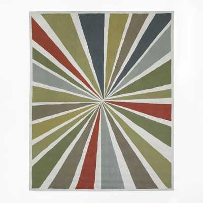 Lourdes Sanchez Bullseye Rug, 9'x12', Multi - West Elm