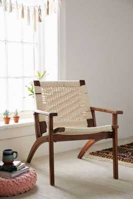 Woven Lounge Chair - Urban Outfitters