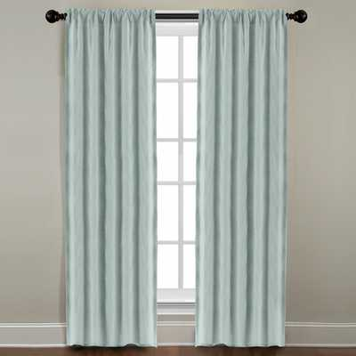 Veratex Grand Luxe Mineral All Linen Gotham Rod Pocket Panel - Overstock