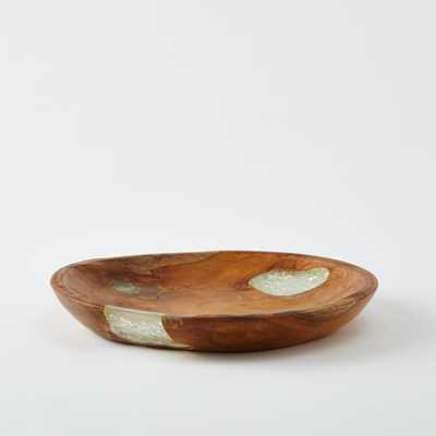 Wood + Resin Trays-Small - West Elm
