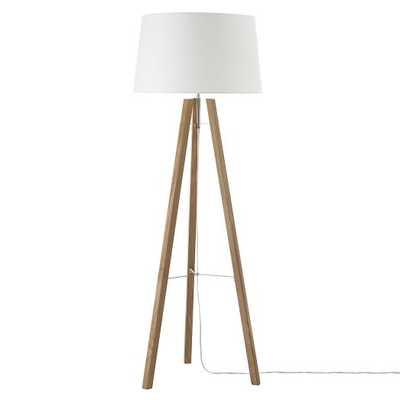 Tripod Wood Floor Lamp - West Elm