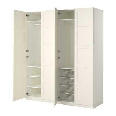 PAX Wardrobe - White - Bergsbo white - Ikea