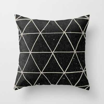 "Geodesic throw pillow - 18"" X 18"" with pillow insert - Society6"