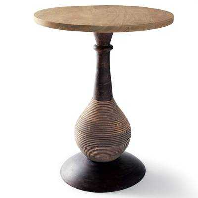 Onion Natural Wood Table - Grandin Road