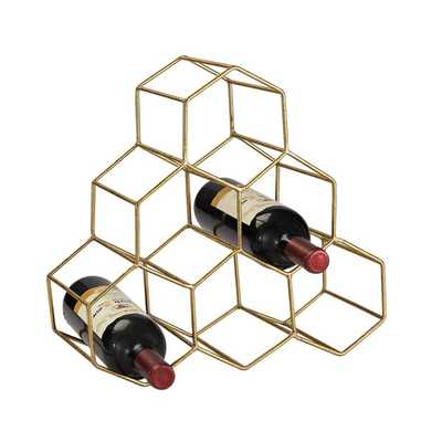 Elk Lighting Angular Study Hexagonal Wine Rack - Overstock