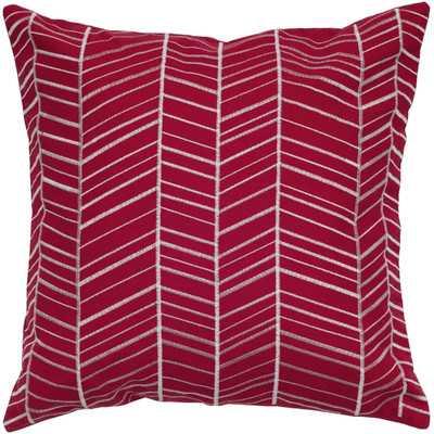 """Pillow Cover-18""""-With Filler Insert, Blue - Wayfair"""