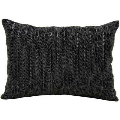 Beaded Stripes Lumbar Pillow - AllModern
