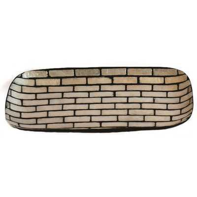 Rectangle Mosaic Hand Towel Tray - AllModern