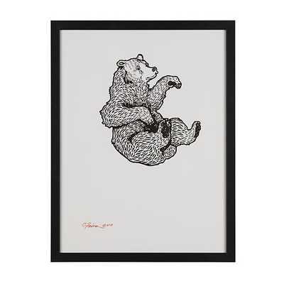 Falling Bear Wall Art - Land of Nod