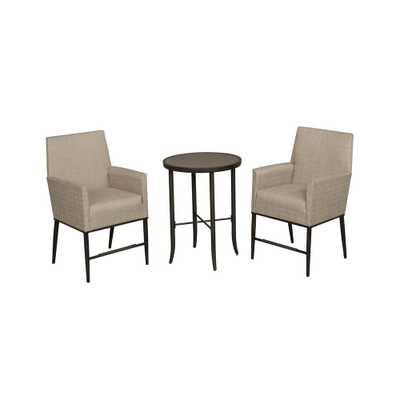 Aria 3-Piece Balcony Patio Bistro Set - Home Depot