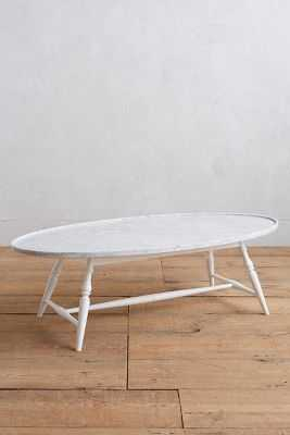 Abney Coffee Table - White - Anthropologie