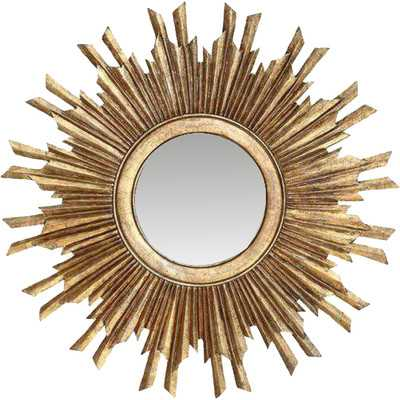 Creative Co-Op Chateau Round Sunburst Mirror - Wayfair