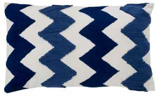 Chevron Cotton Pillow - One Kings Lane