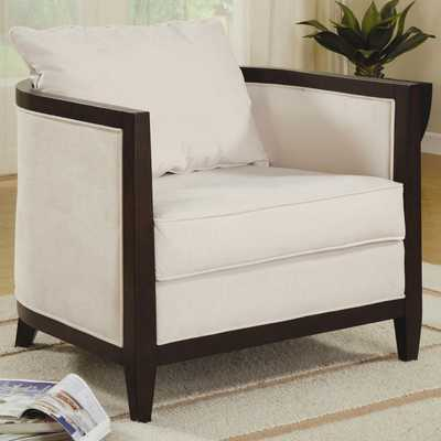 Tea Cup Accent Chair - brookstone.com