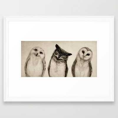 The Owl's 3 - Society6