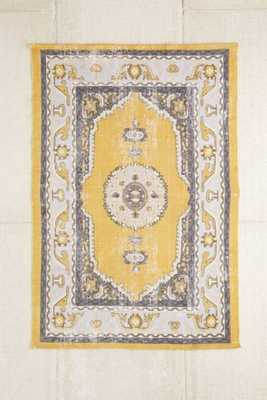 Magical Thinking Salma Printed Rug - Gold - 5' x 7' - Urban Outfitters