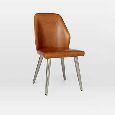 Crawford Leather Dining Chair + Sets - West Elm