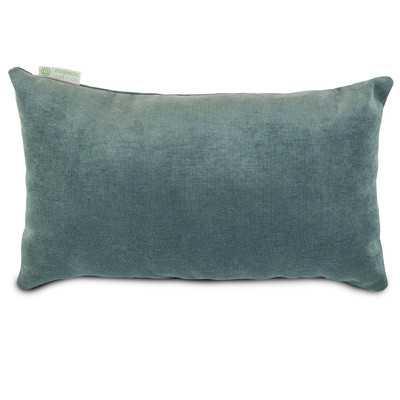 """Villa Lumbar Pillow-Azure-12""""x20""""-Insert - Wayfair"""
