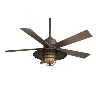 """54"""" RainMan 5 Blade Indoor / Outdoor Ceiling Fan - Wayfair"""
