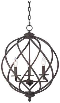 Katerina Swirled  Foyer Chandelier - Lamps Plus