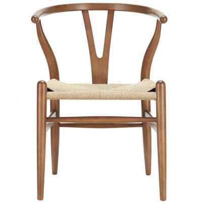 Amish Wood Armchair - Domino