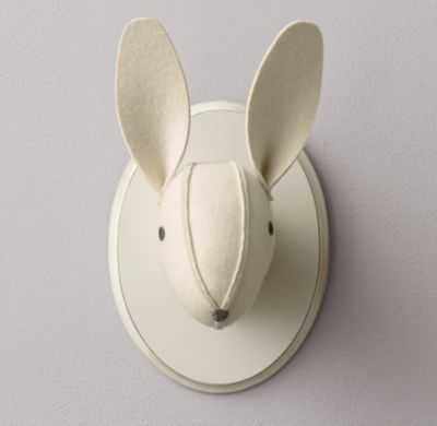 Wool felt bunny head - RH Baby & Child