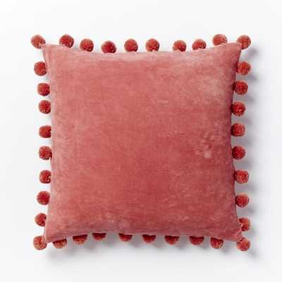 Jay Street Ashti Pom Pom Pillow Cover - West Elm