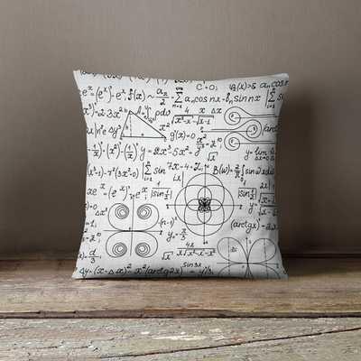 Math Pillow - 18x18, Polyester, No Insert - Etsy