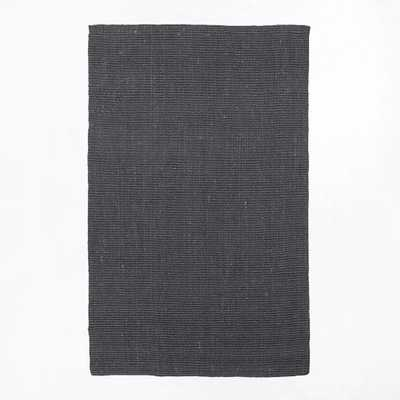 Jute Boucle Rug - Iron-9'x12' - West Elm