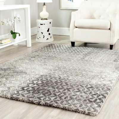 Safavieh Porcello Grey Rug (6'7 x 9'6) - Overstock