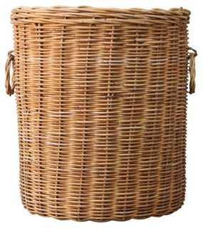 Woven Wicker Basket & Planter - One Kings Lane