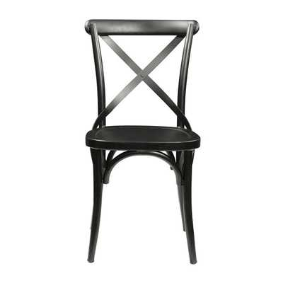 Alexander Industrial Steel Side Chair - Overstock