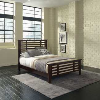 Cabin Creek Slat Panel Bed - Wayfair