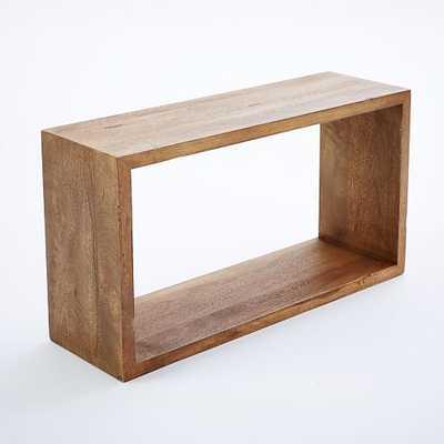 Rustic Shelf - Rectangle - West Elm