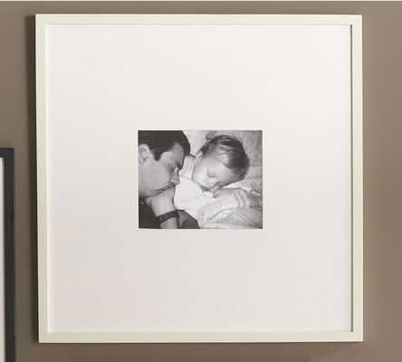 """Wood Gallery Single Opening Frame -8 x 10"""" Opening - Pottery Barn"""