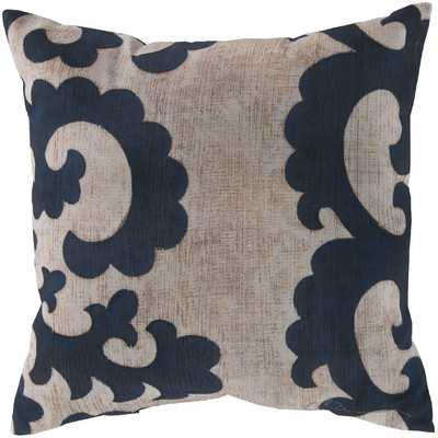 "Statuesque Scroll Throw Pillow -20"" x 20""-Insert included - Wayfair"