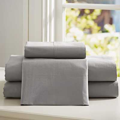 PBteen Classic Organic Sheet Set - Pottery Barn Teen