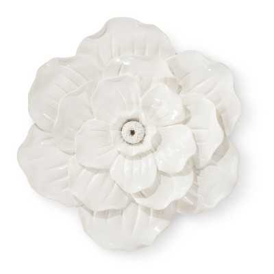 White Flower Wall Décor - Target