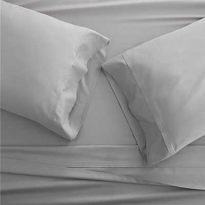 Grace Silver Queen Sheet Set - Crate and Barrel
