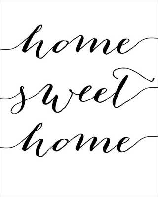 Home sweet home print - home wall art - 8x10 - Unframed - Etsy