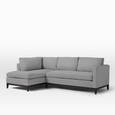 Blake Down-Filled Blake Down-Filled 2-Piece Left Chaise Sectional - West Elm