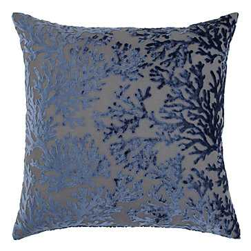 """Corales Pillow 24"""" - Feather and down insert - Z Gallerie"""