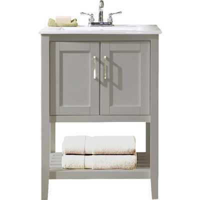 """24"""" Single Bathroom Vanity Set - Wayfair"""