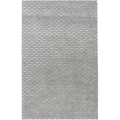 Atlantis Gray & Silver Area Rug - 5' x 8' - Wayfair