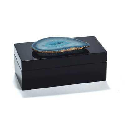 Agate Lacquered Box-Medium - AllModern