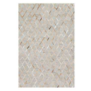 "Caswell Hair On Hide Rug, 5' x 7'6"" - Z Gallerie"