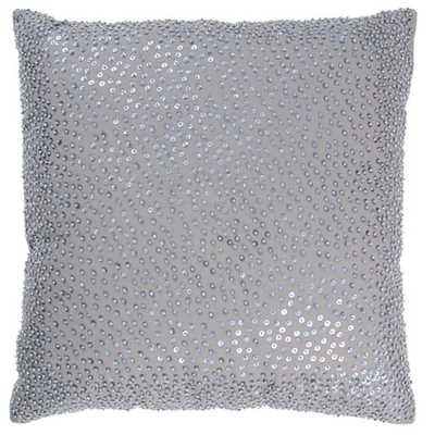 Rizzy Rugs Gray 18-Inch Holiday Pillow - Bellacor