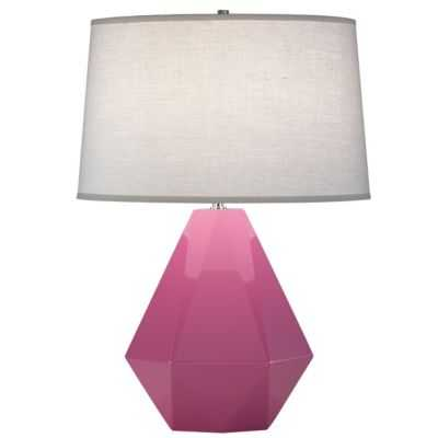 Delta Table Lamp - Schiaparelli pink - lumens.com